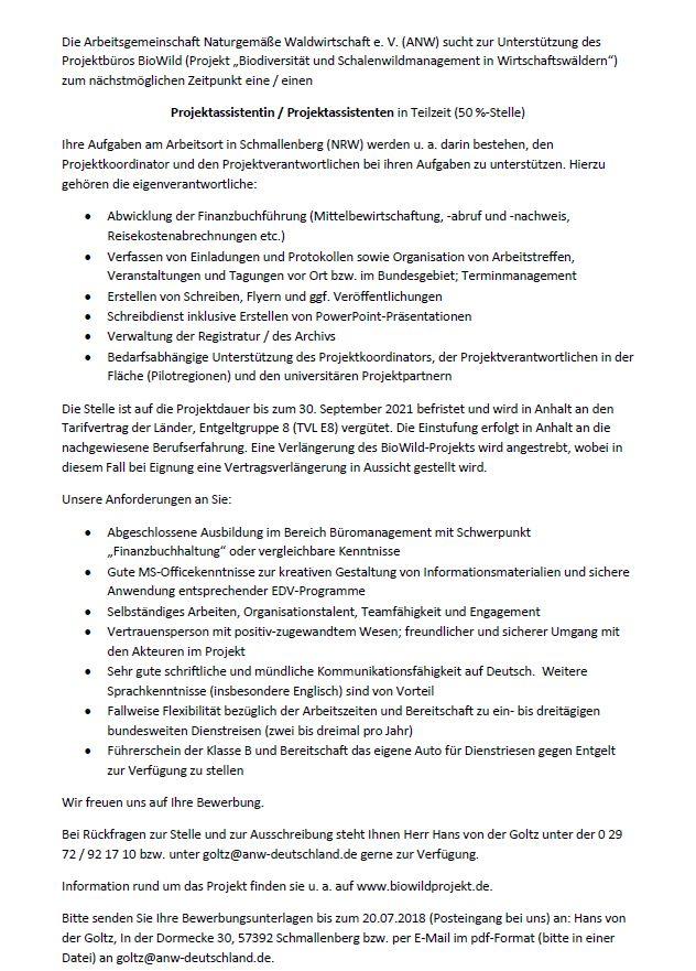 Jobbörse Detail Wirtschaftsförderung Schmallenberg Unternehmen